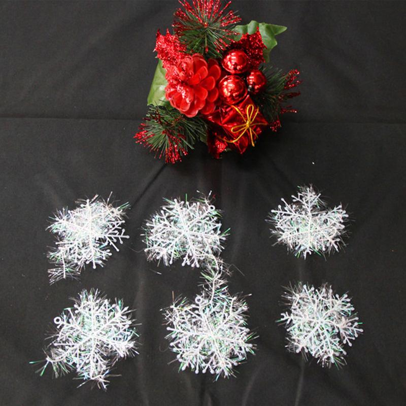 Pcs lot cm christmas ornament white plastic