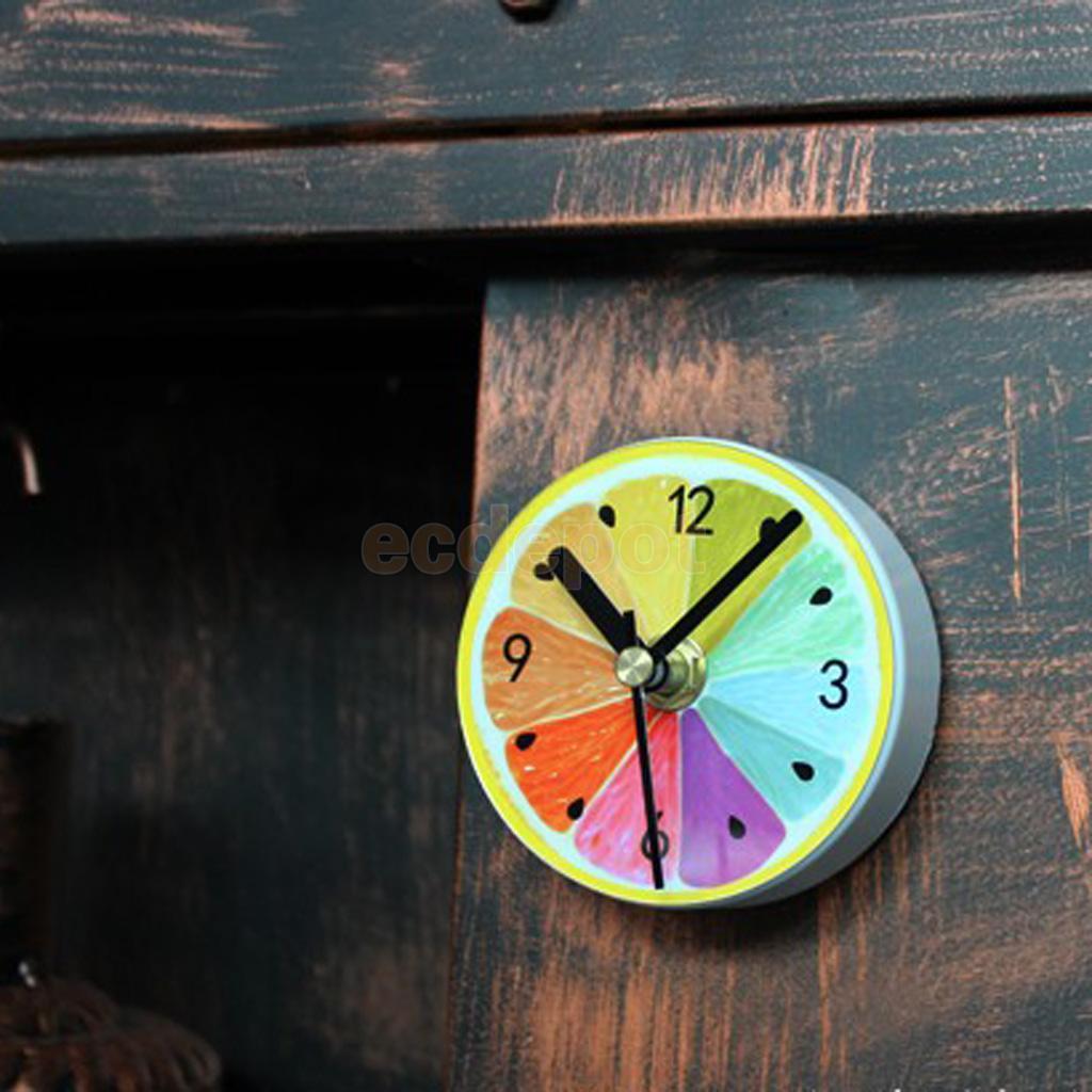 Magnetic Suction Clock Wall Clock Multi Use Bath Shower Clock Kitchen Clock