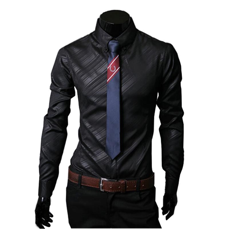 Hot sale new 2015 high quality mens designer stripes dress for Dress shirts on sale online