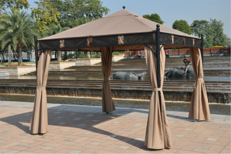 3 3 Meter High Quality Outdoor Gazebo Tent Patio Shade