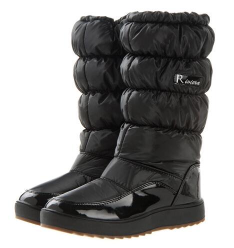 Гаджет  2014 China top brand women winter boots waterproof autumn boots knee-high women leather boots women