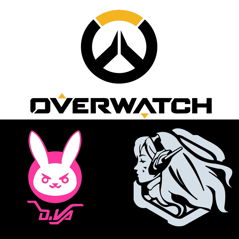 2016 New Style Overwatch Figure Game Stickers Car Styling ...