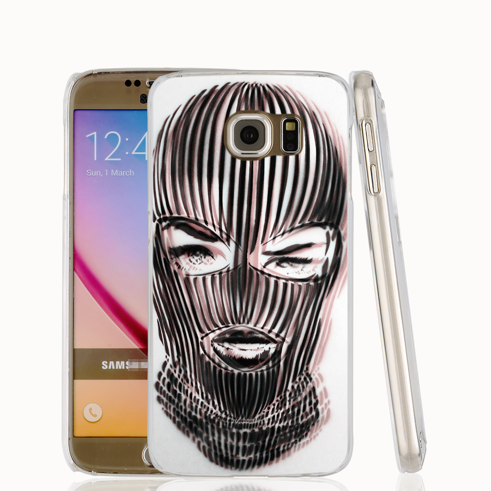 18042 Badwood 3D Ski Mask cell phone case cover for Samsung Galaxy S7 edge PLUS S6 S5 S4 S3 MINI(China (Mainland))