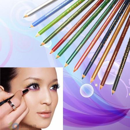 12 Color Cosmetics Makeup Pen Waterproof Eye Liner Lip Eyeliner Pencil Freeshipping - Health & Beauty House store