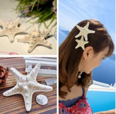 min order- 15usd Natural true starfish hair rope Alloy material(China (Mainland))
