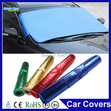 2015 New Waterproof Car Windshield Visor Cover Block Front Window Sunshield Windows Sun Shade Snow Car Covers(China (Mainland))