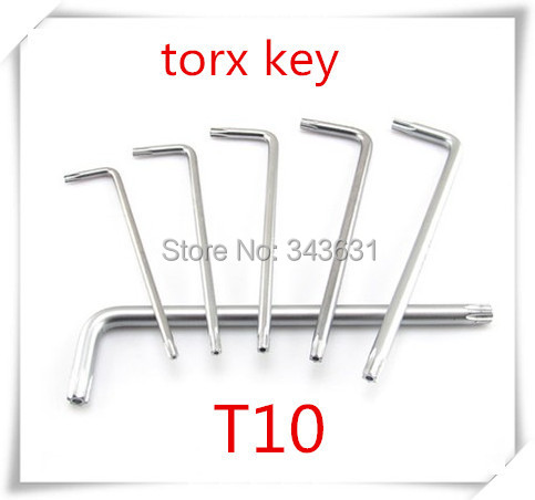 T10 High Quality Alloy Steel  Torx  Allen Wrench Spanner Fixing Tools Box end  wrench
