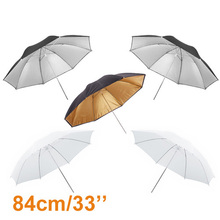 "Buy High 5pcs 33"" 84cm Photography Studio Reflector Flash Umbrella Set Photo Studio Accessories Hot Selling for $34.39 in AliExpress store"