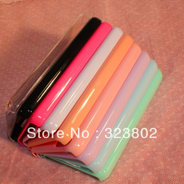 12 PCS Wholesale High Quality Blank Plain Hard Cell Phone Back Case Cover Shell Skin For iPhone5c iPhone 5c