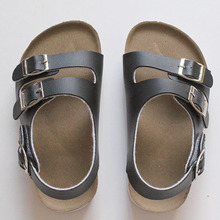 Sandals Child Footwear For Children Sandals Girls And Boys Sandals  Breathable  Flats  Shoes Summer Comfortable leather sandal(China (Mainland))