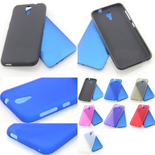 Free Shipping Matte TPU Silicone Gel Case Cover For HTC Desire 620 620G D620h D620u Dual Sim High Quality Skidproof matte soft