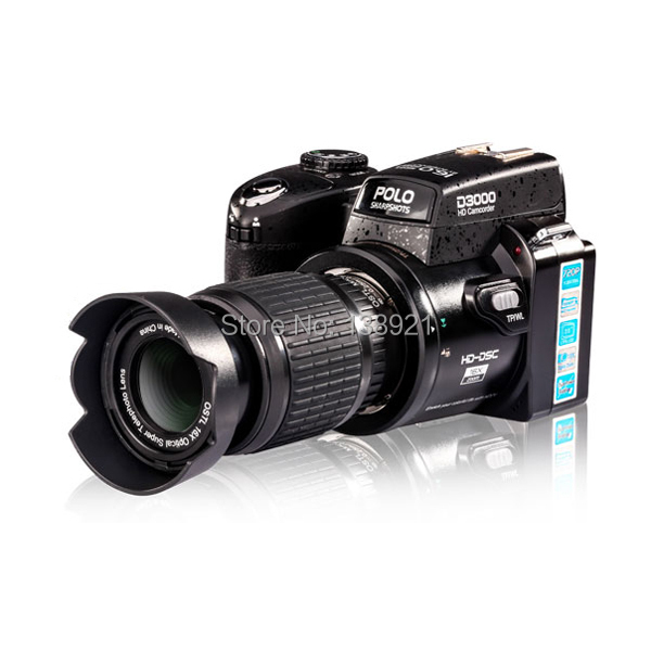 High Definition HD D3000 5.0MP 16X CMOS Sensor Digital SLR Camera Video Recorder(China (Mainland))