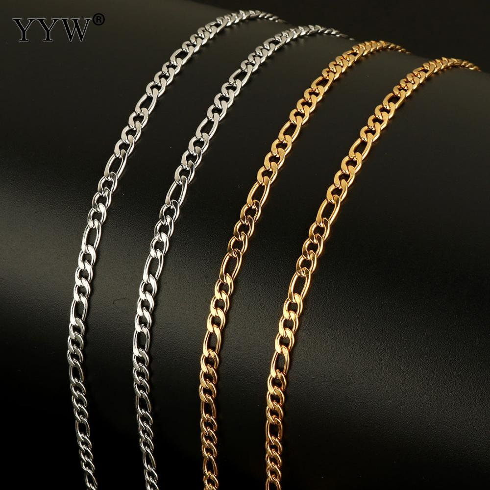 200cm Silver Chains Jewelry Making DIY Necklace Pendant Jewelry Making