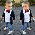 2016 new arrive factory outlet baby boys clothing set children clothing set fashion kids costumes free