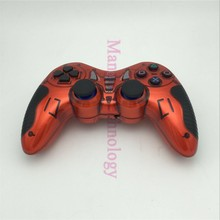 ALP015 Double Shock joystick 2.4G Wireless Gamepad for PC PS2 PS3 Android TV Box + Gift Rocker Cap Wireless Game Controller