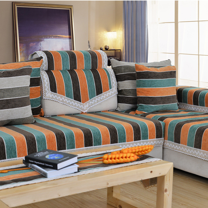 Housse de canape capa para sofa covers set fabric cover - Housses de canape ...