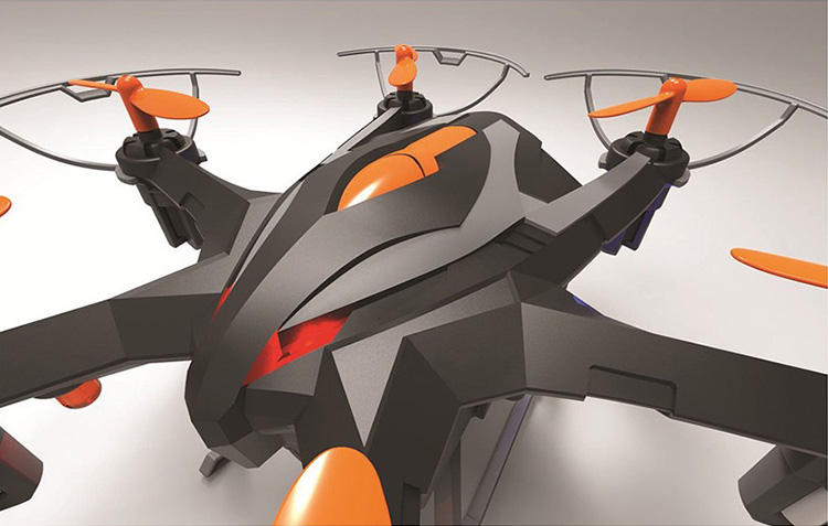 I6S FPV RC Drone 6-Axis Professional Quadcopter With 2MP WiFi Camera RC Helicopter Free Shipping(China (Mainland))