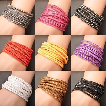 Бесплатная доставка продажа оптовая продажа мода браслет обруча многослойных браслеты ...