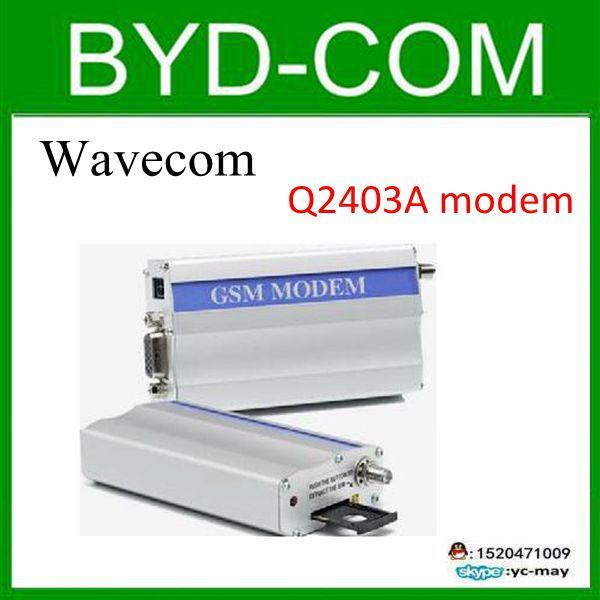 freeship wavecom Q2403A GSM modem for RS232 industrial report equipment 14.4 kbit/s(China (Mainland))
