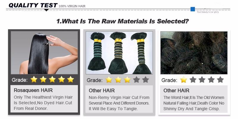 3pcs Human Braiding Hair Bulk 8A Brazilian Loose Wave Bulk For Braiding Loose Curly Human Braiding Hair Bulk Rosa Hair Products
