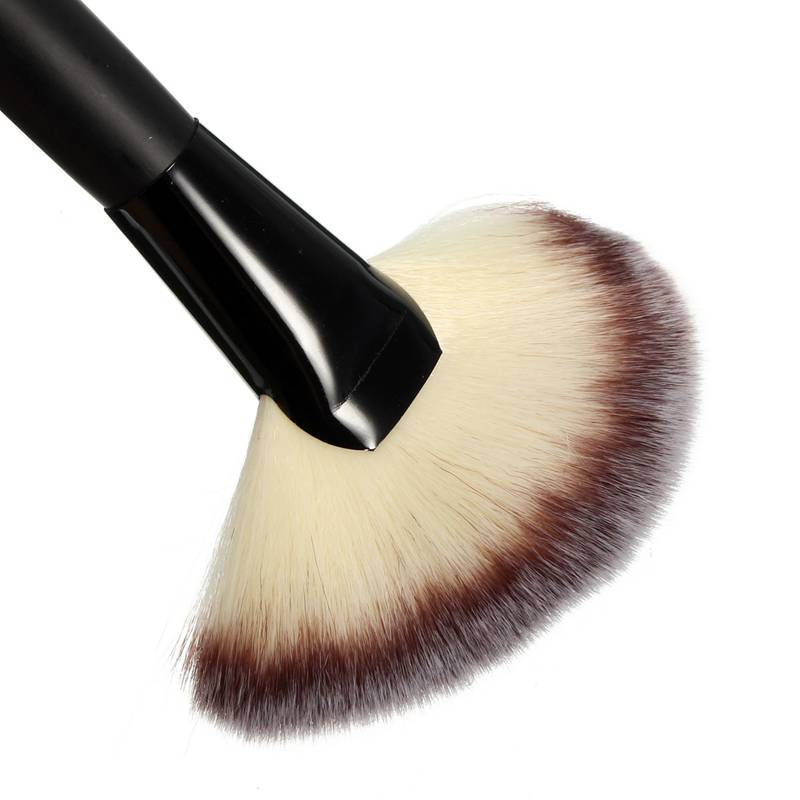 2015 New Arrived 1Pcs Flat Contour Brushes High Quality Powder Blush Blend Brush Makeup Beauty Comestic Tools Free Shipping(China (Mainland))