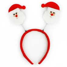Wholesale mix 6pcs/lot Merry Christmas costumes decoration Non-woven snowman Santa Claus christmas item gift(China (Mainland))