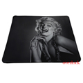 Sexy Marilyn Monroe Printed Pattern Comfortable Optical Mousepad PC Computer Notebook Gaming MousePad Soft Rubber Mice