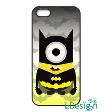 Fit for Samsung Galaxy mini S3/4/5/6/7 edge plus+ Note2/3/4/5 back skins cellphone case cover Batman And Minion Despicable Me