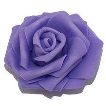 6เซนติเมตรหัวหลากสีที่ทำด้วยมือ5สองชั้นข้นpeโฟมดอกกุหลาบหัวหน้า/เทียมเพิ่มขึ้นดอกไม้(50ชิ้น...(China)