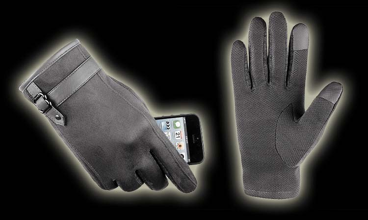 12GLV993 New arrival touch screen gloves with thick warm fleece cycling driving outdoor sports gloves