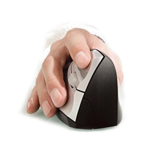 Professional Wireless Ergonomic Optical Mouse Ergonomic Vertical reative Comfort Showcase Free Shipping(China (Mainland))