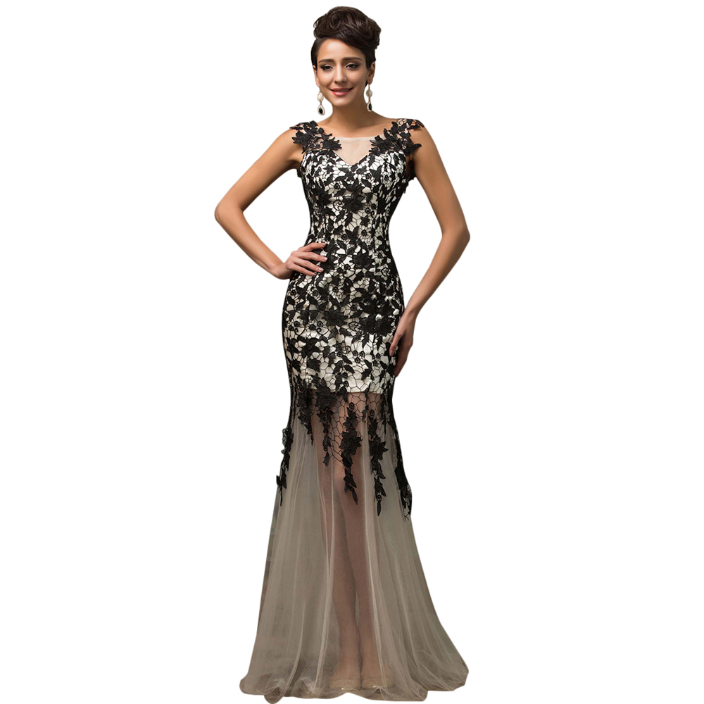 evening dresses 2016 robe de soiree longue long formal dress grace karin custom made red black. Black Bedroom Furniture Sets. Home Design Ideas