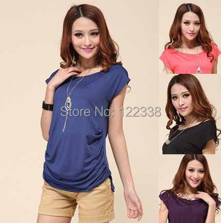 Free shipping, 2015 new summer dresses t shirt 2013 women long t-shirts  H1