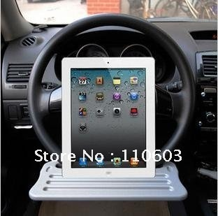 Free shipping Multifunctional steering wheel stowage rack for Ipad and other things in car /car accessories