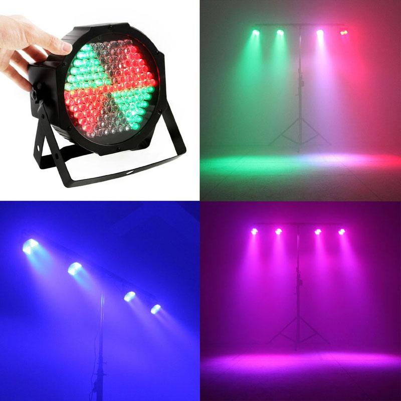 Par RGB LED Stage Lighting 127 Lights DMX512 disco dj Party sound control DMX par light (EU plug) - ordernow2016 store