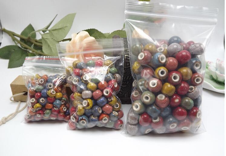 ceramic beads 8mm porcelain beads large hole flower beads beads handmade DIY accessories wholesale 01231(China (Mainland))