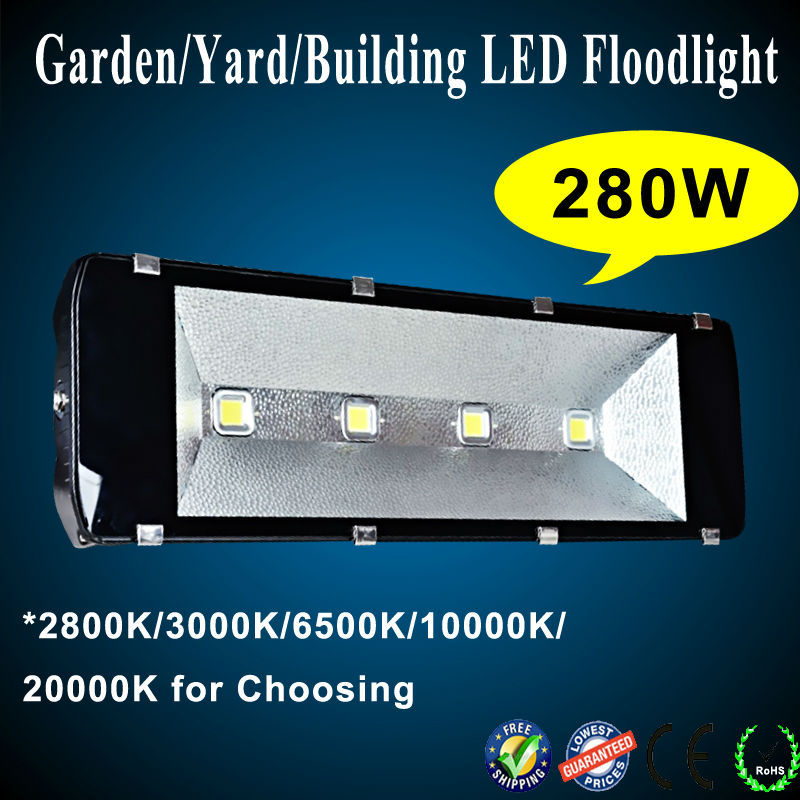 waterproof 200-500w led flood light, building ligh,t garden lighting, yard lamp led flood light 280 w free shipping<br><br>Aliexpress