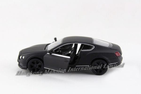 136 Matte Black Car Model For Bentley Continental GT (4)