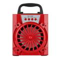 Red LED Light Wireless Bluetooth Speaker Portable Super Bass Mini Speaker USB TF AUX FM Radio