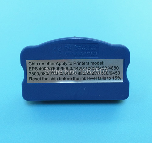 Best price Waste ink tank chip resetter/chip resetter for Epson pro 7800 9800 7450 9450 9910 7910 7900 9900 ink cartridge(China (Mainland))