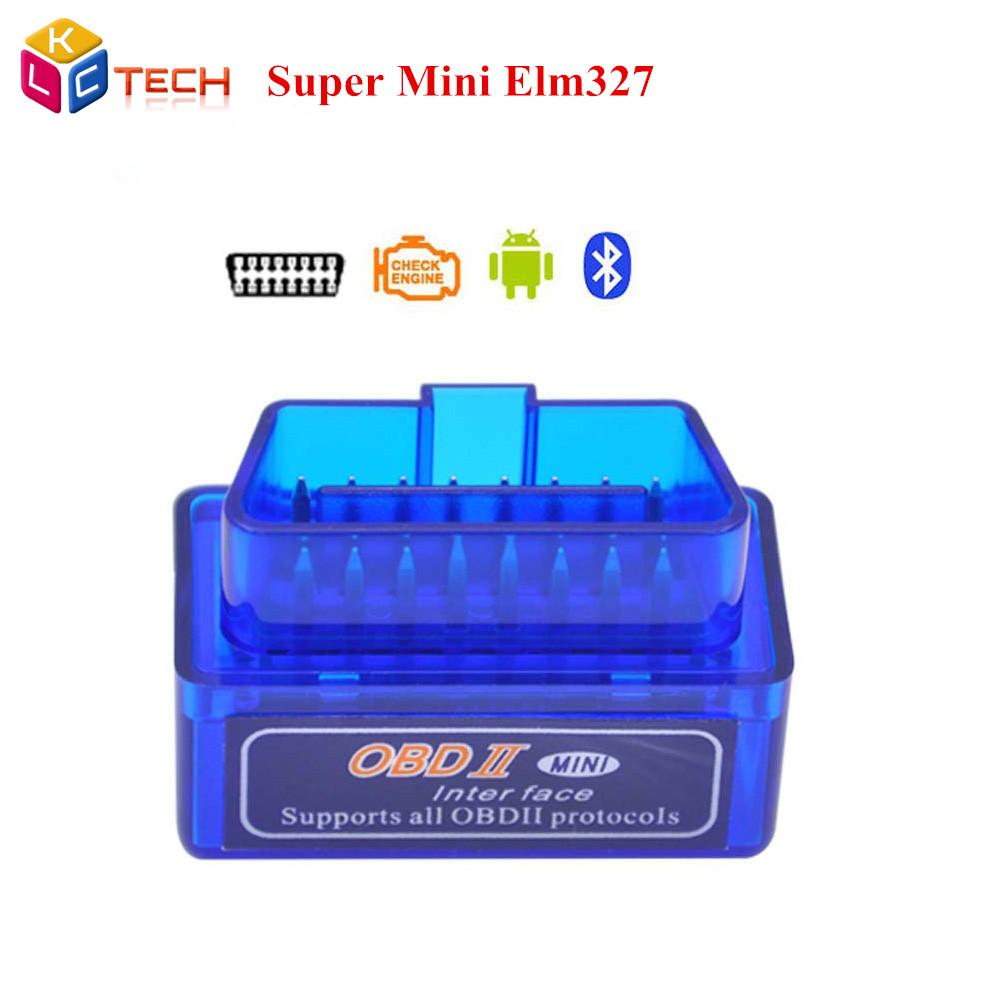 2016 Super Mini ELM 327 Bluetooth V2.1 Auto OBD2 Diagnostic Scanner Tool ELM327 Works Android Tourque Without Track - Sunshine Technology Co.,Ltd... store