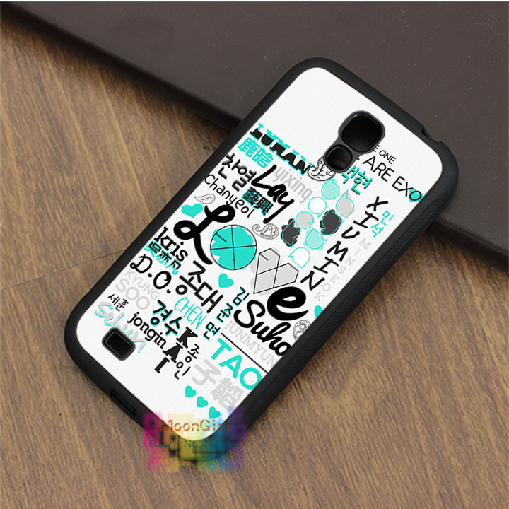 EXO kpop (69) fashion phone case for samsung galaxy S3 S4 S5 S6 S7 Note 2 Note 3 Note 4 #LI4963(China (Mainland))