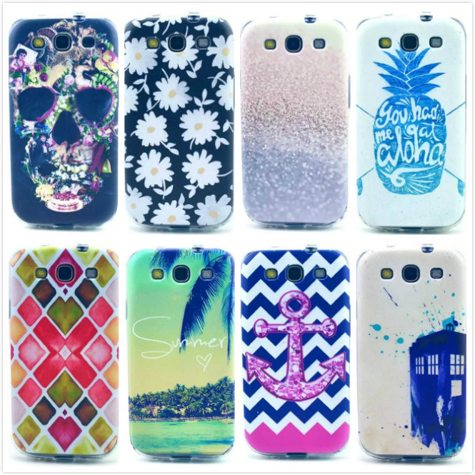 2015 For SamSung Galaxy S3 i9300 Case TPU Soft Silicone Gel Protective Back Skin Cover Case Coque For S3 Cell phone shell,MY171(China (Mainland))