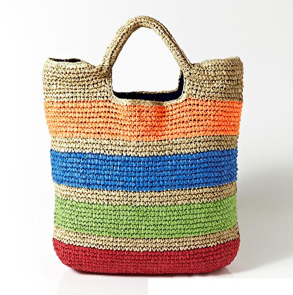 prada purses online - Online Shop 2016 New Fashion Womens Straw Handbags Summer Weave ...