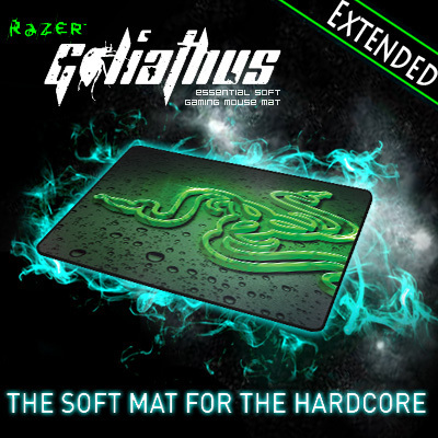 Razer Goliathus 2013 Speed Edition Gaming mousepad, Extended size 920*294*4 mm Orignal& Brand New in BOX, Free shipping