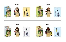 4Pcs/lot Ghostbuster Minifigures Building Blocks Figures Model Bricks Toys Compatible with lego(China (Mainland))