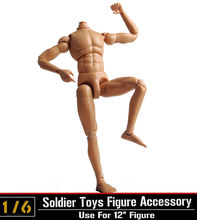 1:6 Scale Dragon Neo-3 Nude Body Figure Male Narrow Shoulder Muscle Man Soldier Game Model Accessory for 12