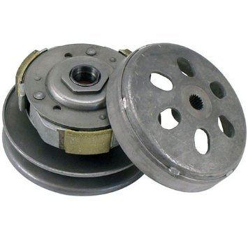 font b GY6 b font 125cc 150cc CVT Rear Clutch Pulley Assy for 1P52QMI 1P57QMJ
