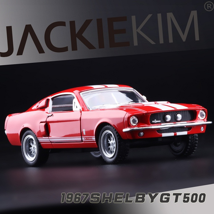 High Simulation Exquisite Collection Baby Toys KiNSMART Car Styling Ford 1967 Shelby GT500 Cobra 1:36 Alloy Car Model Best Gifts(China (Mainland))