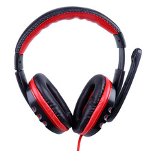 NEW Pro Skype Gaming Game Stereo Headphones Headset Earphone Mic For PC Computer Laptop Gaming Headphones